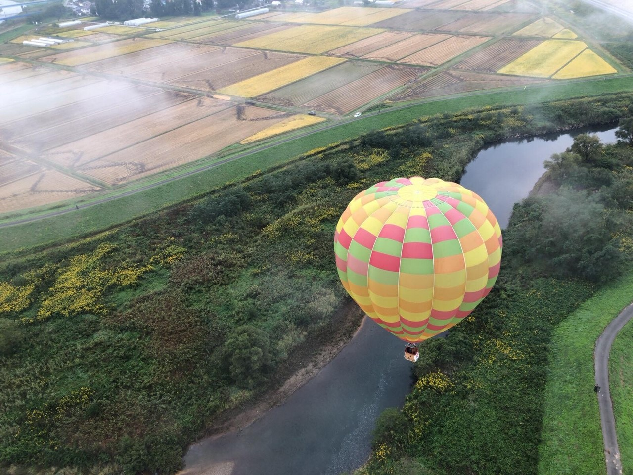熱気球フリーフライト体験のイメージ